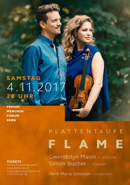 News Flame Plakat Gwendolyn Masin