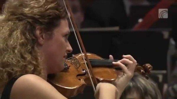Bela Bartok 1st Violin Concerto Gwendolyn Masin Budapest Symphony Orchestra MAV conductor Teddy Abrams