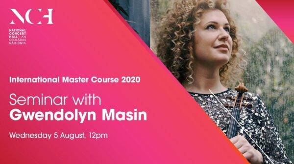 Seminar on Vibrato at the National Concert Halls International Master Course 2020