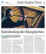 Gaia  Thuner  Tagblatt 11 5 15 Gwendolyn Masin