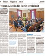 Thuner Tagblatt 08 Mai 2016 Gwendolyn Masin